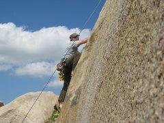 Rock Climbing Photo: Me on Edger Sanction. 3-13-10