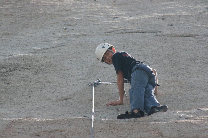 Rock Climbing Photo: Shayne  3-13-10