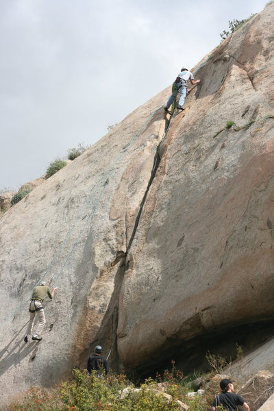 Nathan on the Rat Crack.  3-13-10