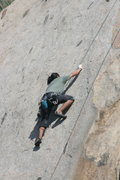Rock Climbing Photo: Albert on Edger Sanction. 3-13-10