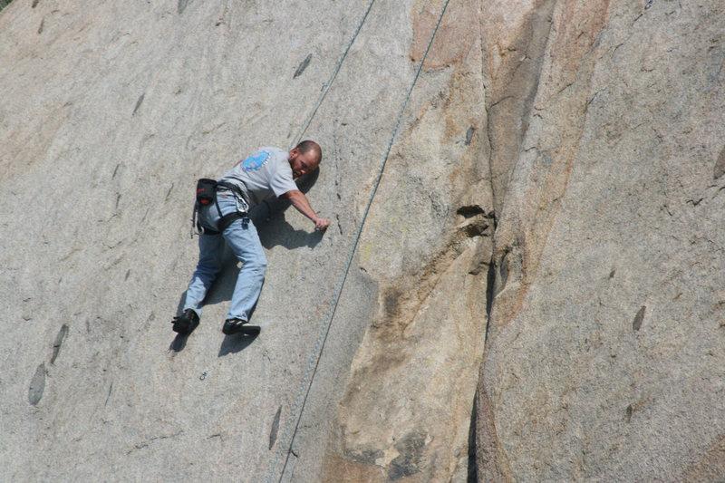 Rock Climbing Photo: Nathan on Edger Sanction. 3-13-10