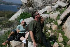 Rock Climbing Photo: Albert (laying down), Kat, Sean and Roger.  3-13-1...