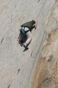 Rock Climbing Photo: Sean on Edger Sanction. 3-13-10