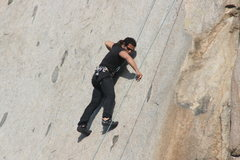 Rock Climbing Photo: RastaRaj on Edger Sanction. 3-13-10