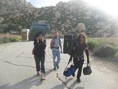 Rock Climbing Photo: Oh that's right he has a Sherpa (RastaRaj).  3-13-...