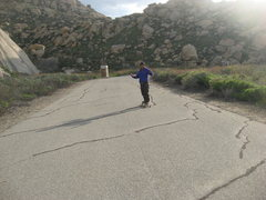 Rock Climbing Photo: Albert   3-13-10