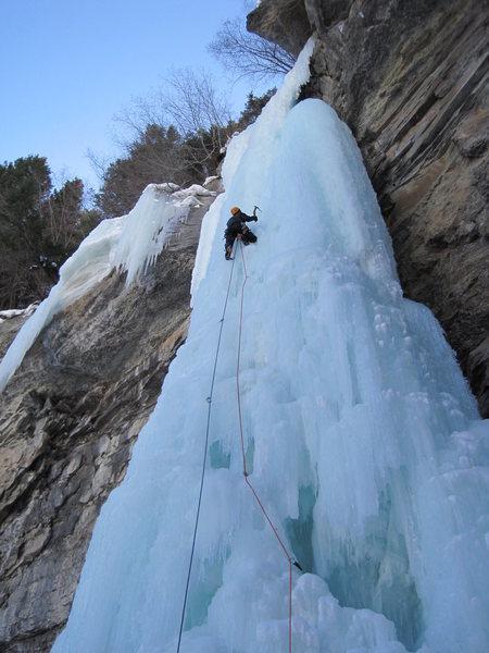 Rock Climbing Photo: Designator, 3/07/10.