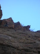 Rock Climbing Photo: Simplified cluster, drillin on lead, ground up. Th...