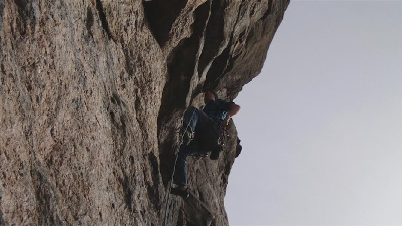 me placing pro on a climb called job review