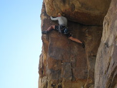 Rock Climbing Photo: Super Roof- Jtree