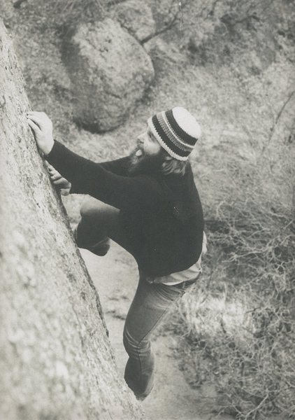 Rock Climbing Photo: Bouldering at The Craigs.