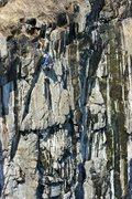 Rock Climbing Photo: Adam on Deer Bait.