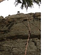 Rock Climbing Photo: climbing high plans poser in devils head fun climb