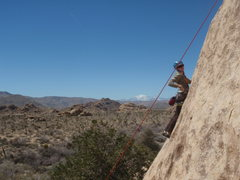 Rock Climbing Photo: Brittny on Outward Slab