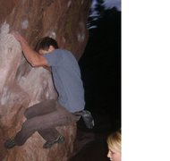 Rock Climbing Photo: doing the monkey traverse