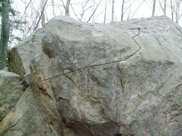 Rock Climbing Photo: This is a line I think people should try it is fun...
