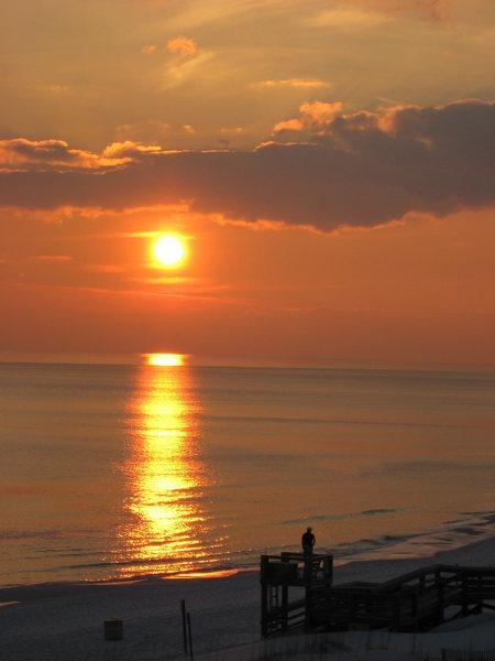 Sunset at Fort Walton Beach, FL