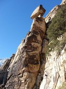 Rock Climbing Photo: The Friar pinnacle; if you're on the summit and it...