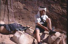 Rock Climbing Photo: Indian Creek , May, 2001