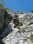 Rock Climbing Photo: Les Buis pitch 5