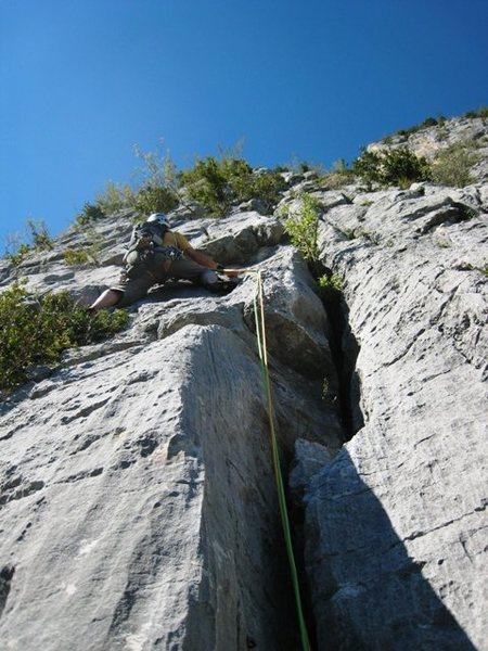 Rock Climbing Photo: Les Buis pitch 7