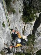 Rock Climbing Photo: Les Buis pitch 8