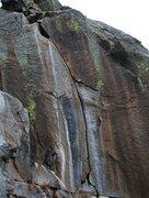 Rock Climbing Photo: Super hard, super short.