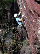 Rock Climbing Photo: Found these pics of Sometime Direct, from April 09...