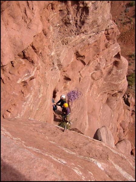 Rock Climbing Photo: superhard!