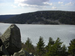 Rock Climbing Photo: Looking out over the Monolith talus towards the We...