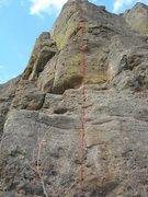 Rock Climbing Photo: Poloroid.