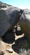 Rock Climbing Photo: View of Mixed Arete (V5) and opposite, Knife Club ...