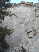 "Rock Climbing Photo: ""Alive and Well..."", and ""OK Crack&..."