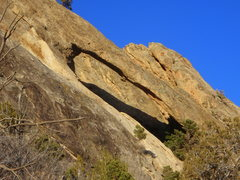Rock Climbing Photo: Rifle Arch.