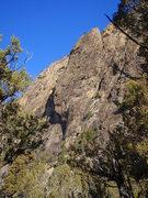 Rock Climbing Photo: The Mitten Slab.