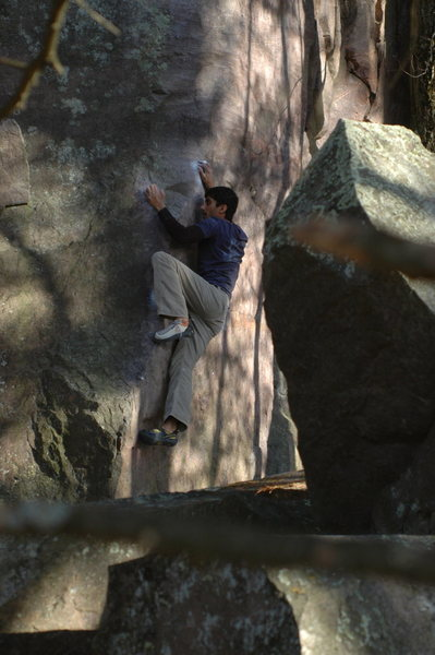 Rock Climbing Photo: RV, gettin some
