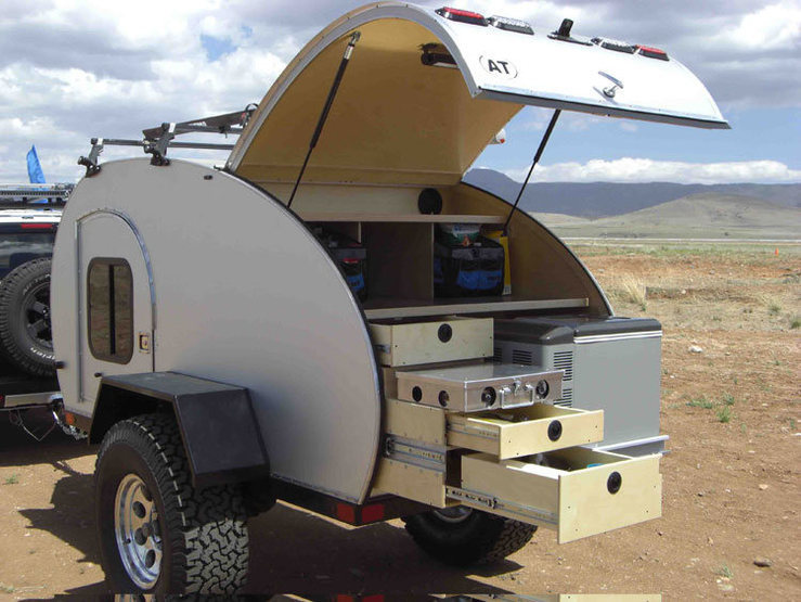 Rock Climbing Photo: Adventure Trailers offroad teardrop