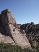 Rock Climbing Photo: Snorkeling in the Rhyolite