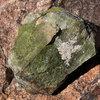 A weird green rock.<br> Photo by Blitzo.