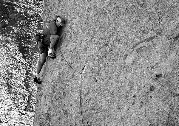 Rock Climbing Photo: FA of Re-Todd Gordumb. Photo by Blitzo.
