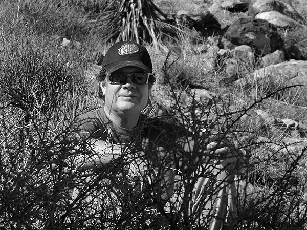 Rock Climbing Photo: Tom Burke having some beer in the bushes before th...