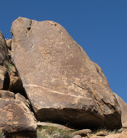 Rock Climbing Photo: The Dinky Boulder. Photo by Blitzo.