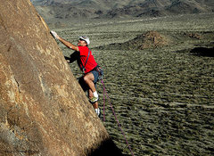 "Rock Climbing Photo: Todd Gordon on the FA of ""Dinky"". Photo ..."