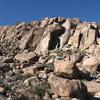 Morongo Man Cliffs.<br> Photo by Blitzo.