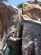 Rock Climbing Photo: The original start to Ice Nine.