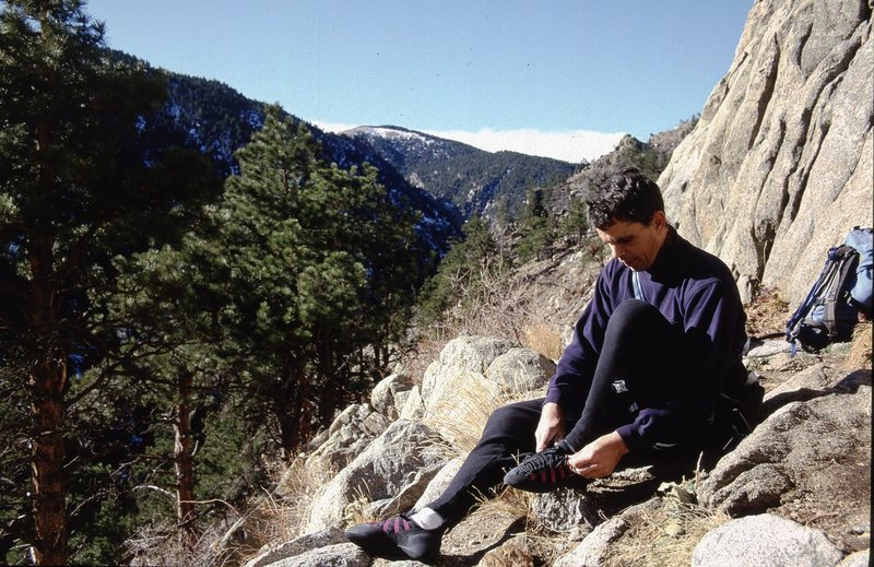 Boulder Canyon, Jan., 2000.