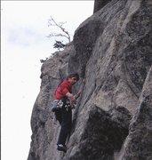 Rock Climbing Photo: Wake Up Wall, Dream Canyon, March, 2000.