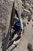 Rock Climbing Photo: Clark on S&C.