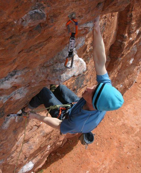 Rock Climbing Photo: Clipy clip