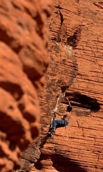 Rock Climbing Photo: Steep